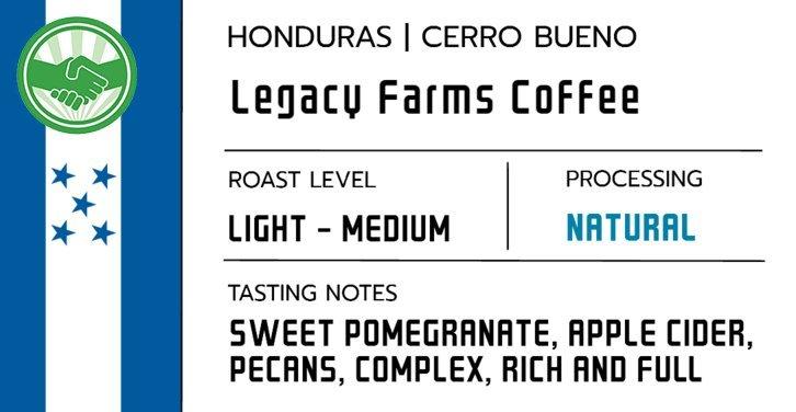 Honduras - Legacy Farms - Natural